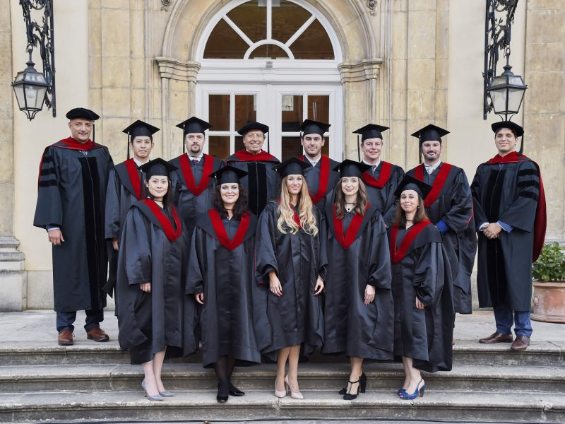 Graduation Ceremony of the MBA Class of 2018
